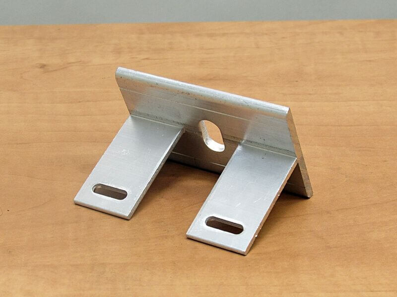 Aluminium hoekprofiel pons
