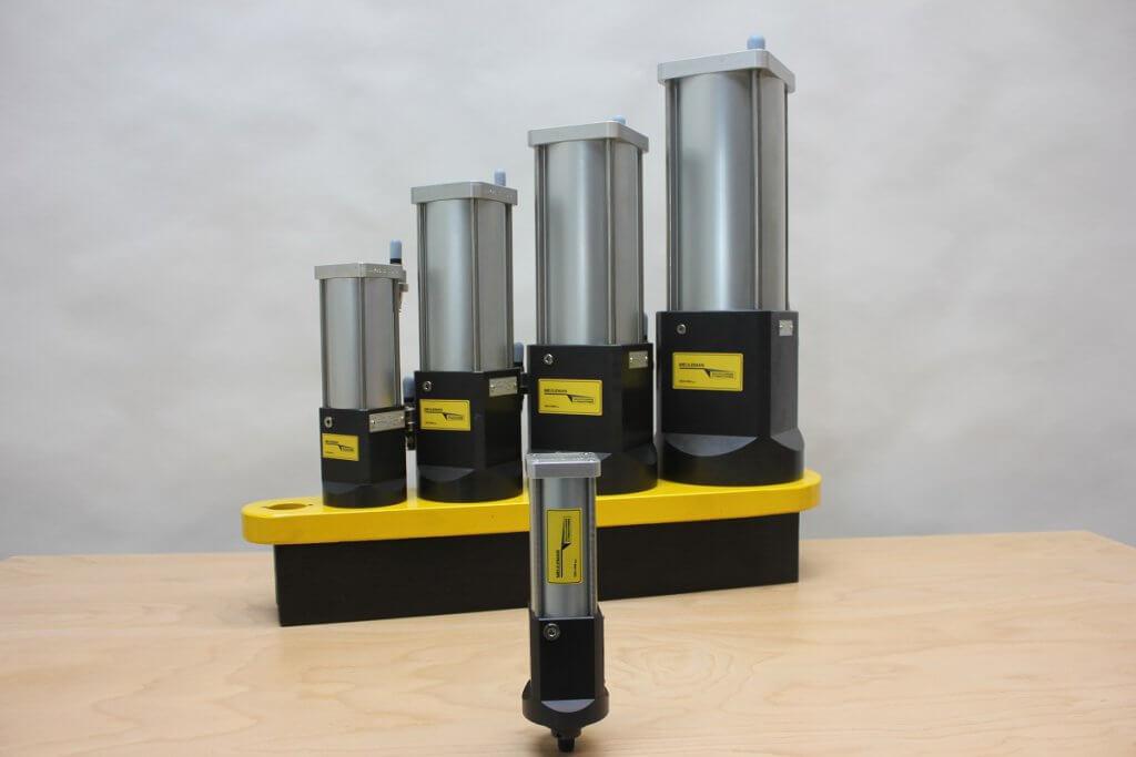 KC1 hydro-pneumatische krachtcilinder