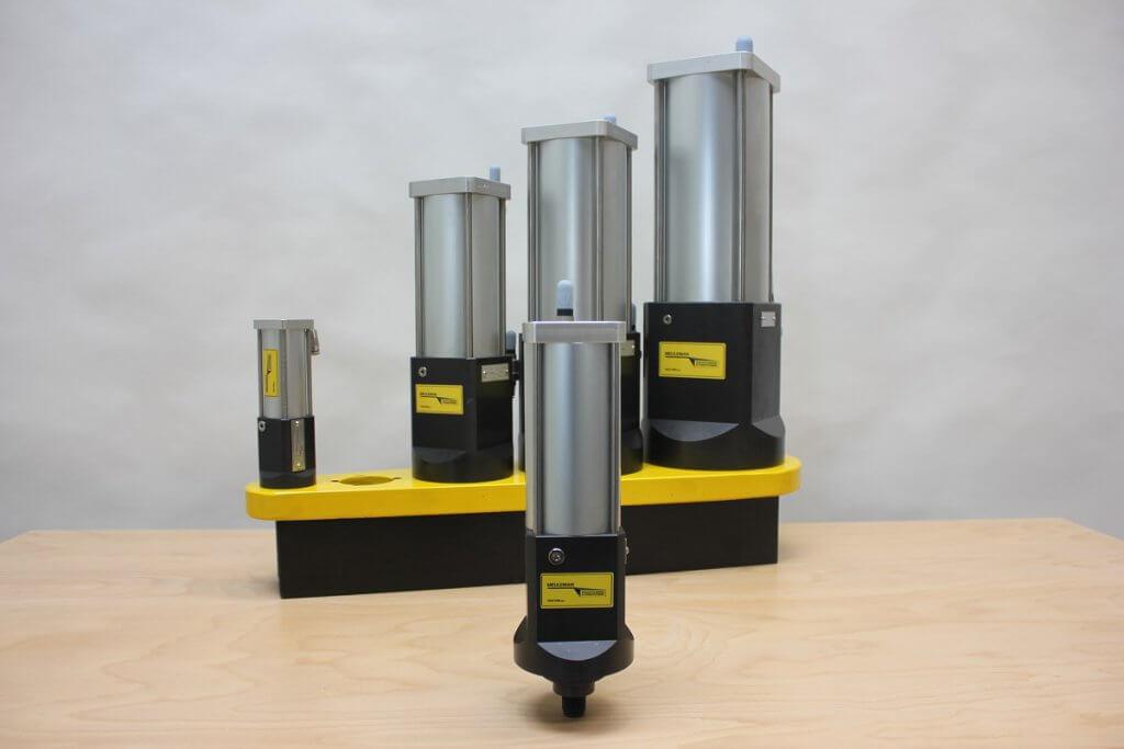 KC5 hydro-pneumatische krachtcilinder